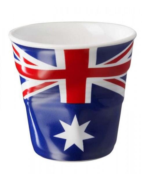 Knickbecher Espresso Flagge Australien