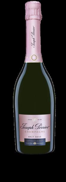 Champagner Cuvee Royale Brut Rose von Joseph Perrier