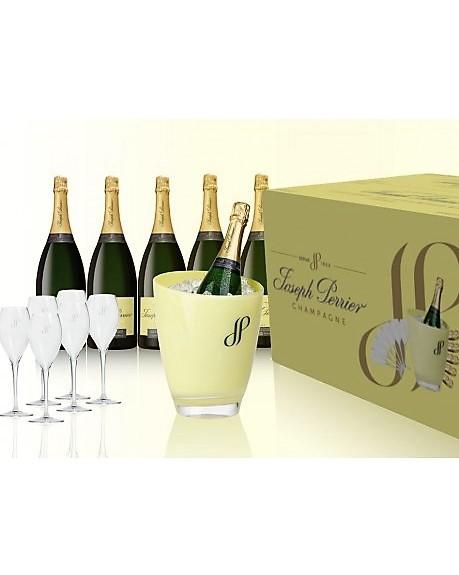 Geschenkbox Champagner