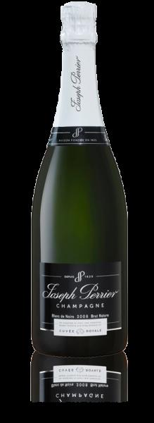 Champagner Cuvee Royale Brut Nature Blanc de Noirs von Joseph Perrier